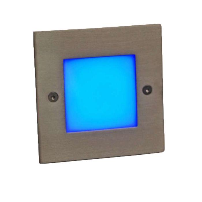 Lampe-à-encastrer-LED-LEDlite-Square-10-bleu