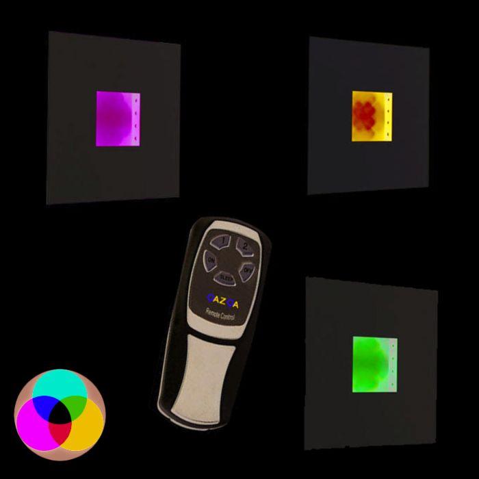 Applique-Plate-RGB-LED-blanc