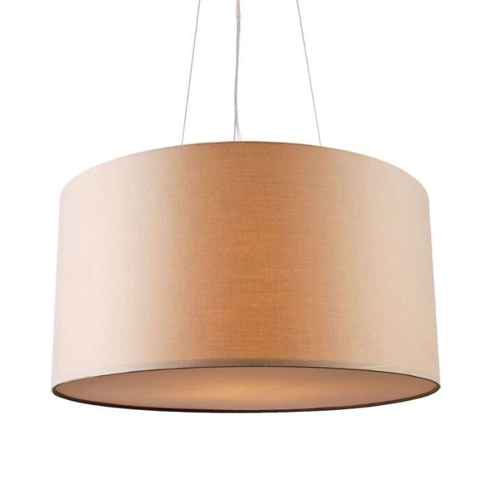 Suspension-Drum-rond-60cm-beige