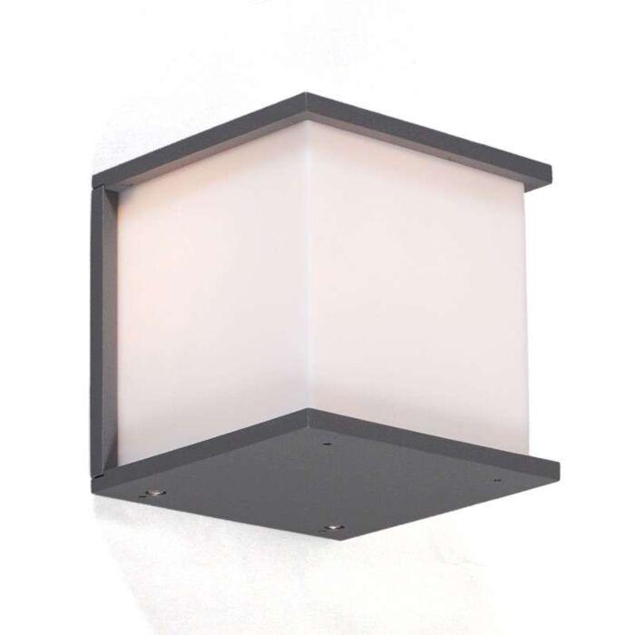 Lampe-d'extérieur-graphite-Qubec