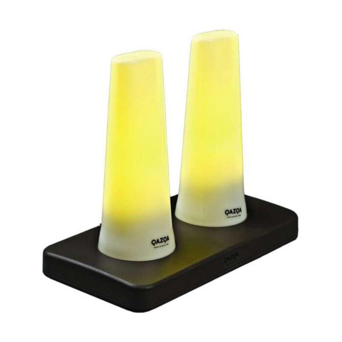 Ensemble-de-deux-lampes-à-LED-TUBE-rechargeables