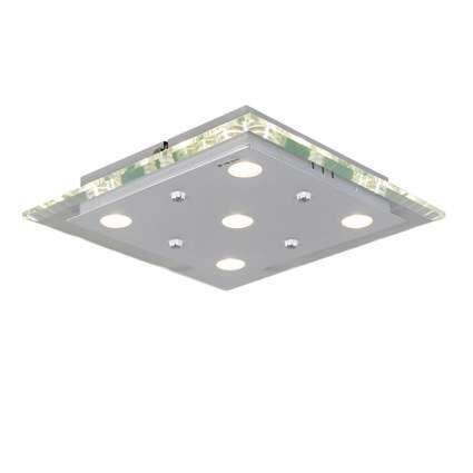 Plafonnier-Credo-carré-30-LED-clair