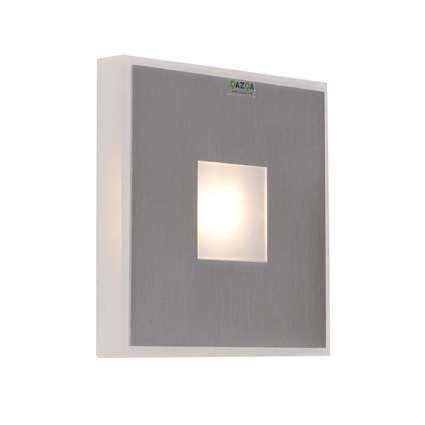 Applique-Hana-carrée-aluminium-LED