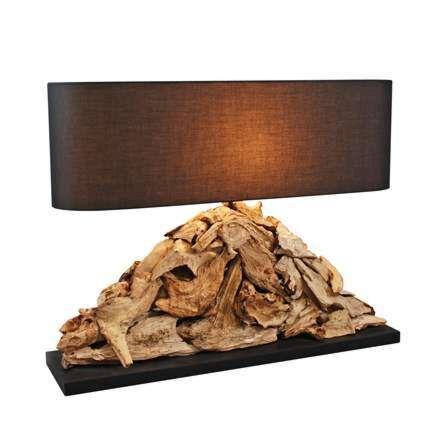 Raman-Pymia-lampe-de-table-avec-abat-jour-marron