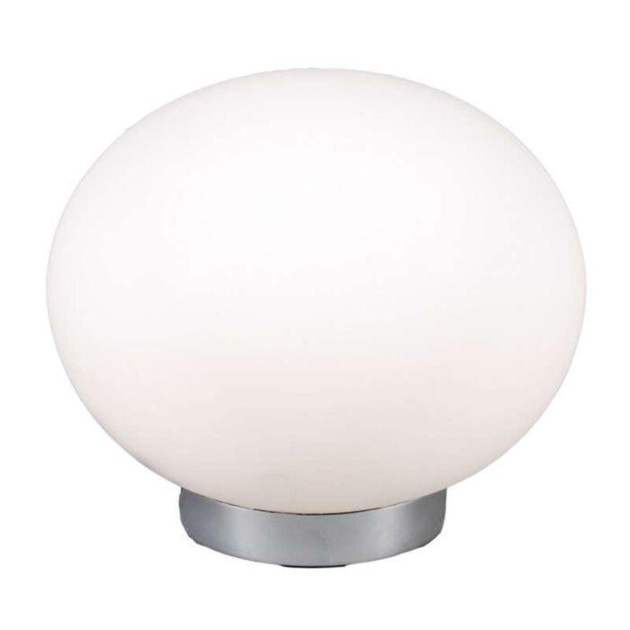 Lampe-de-table-Ball-24-en-acier-avec-verre-blanc