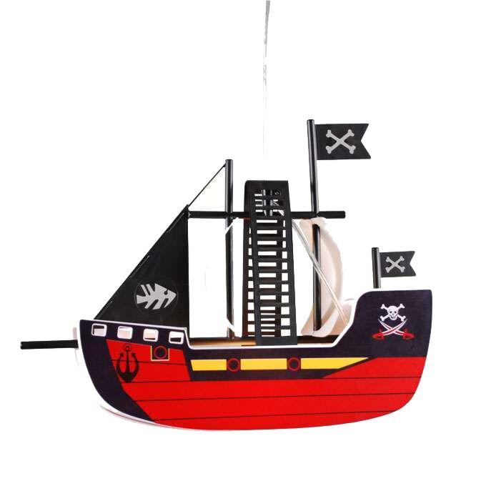 Lampe-suspendue-Kids-Pirate-Ship