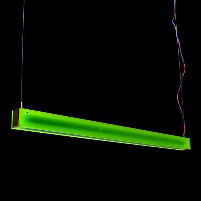 Lampe-suspendue-Tube-R-violet-28W