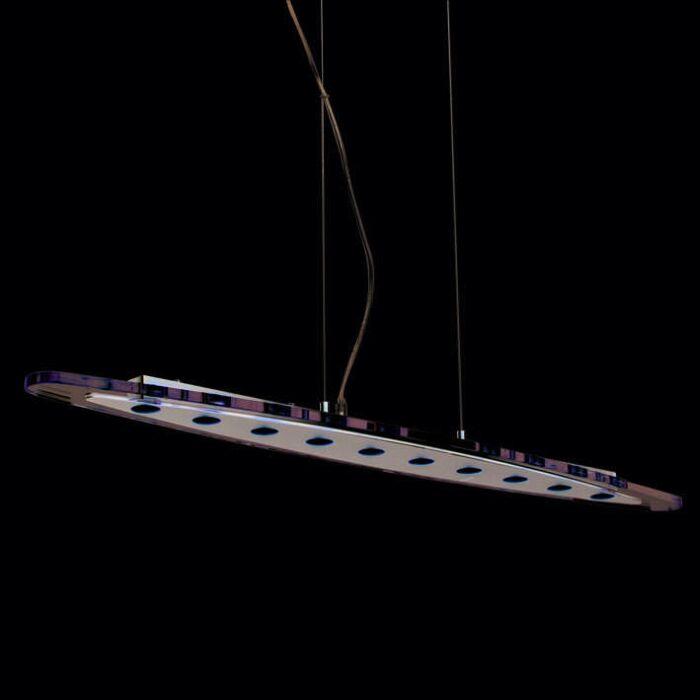 Suspension-Credo-Ovale-100-LED-Clair