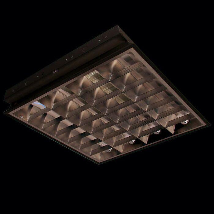 Luminaire-à-encastrer-TL-Louvre-4-x-18W