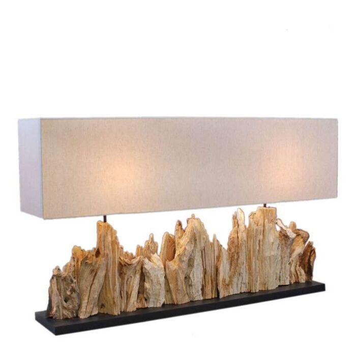 Lampe-de-table-Thak-Extra-Grande-(115-cm-!!)-avec-abat-jour-en-lin