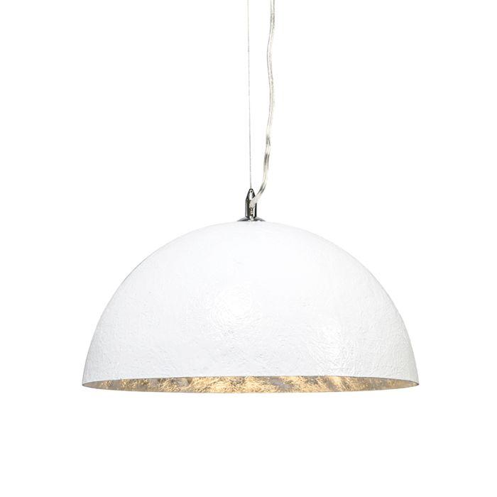 Magna-40-lampe-à-suspension-blanc---argent