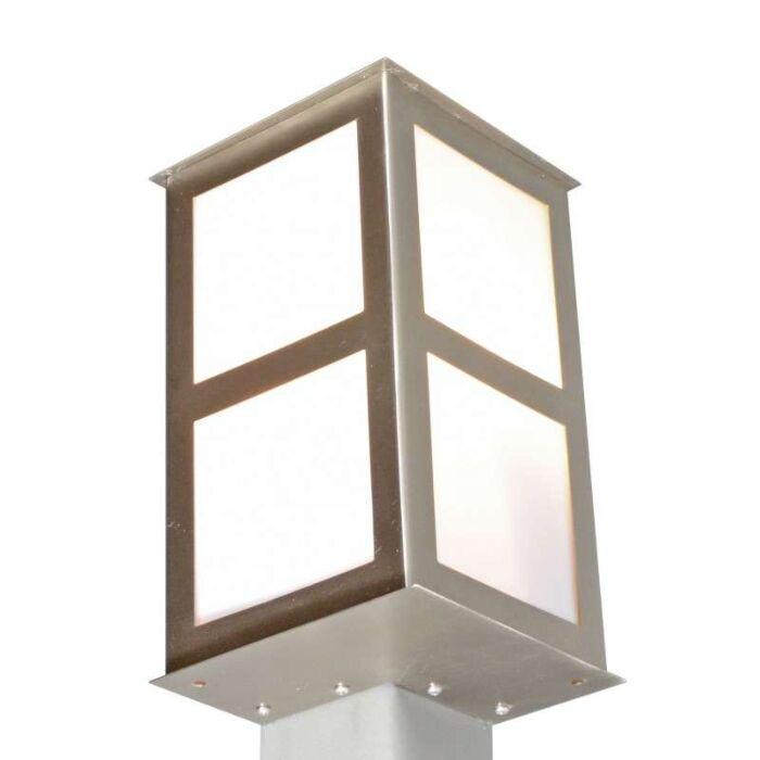 Lampe-d'extérieur-Corner-en-acier-pour-montage-en-angle
