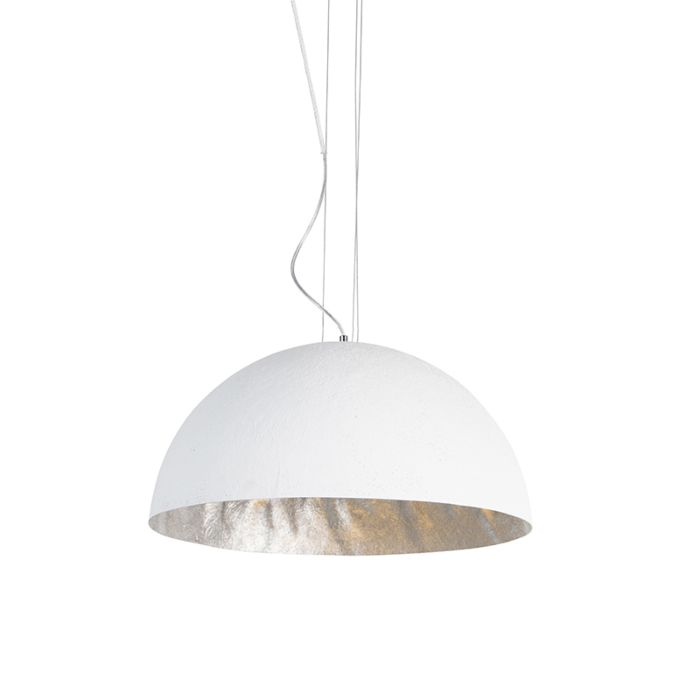 Suspension-moderne-blanche-50-cm---Magna