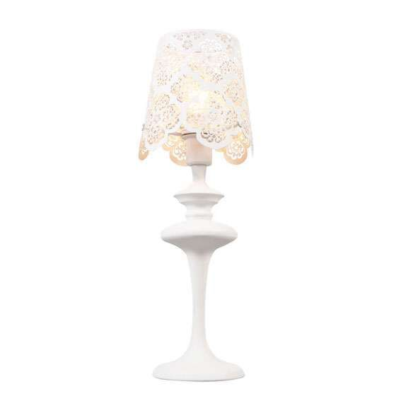 Lampe-de-table-en-dentelle-blanche