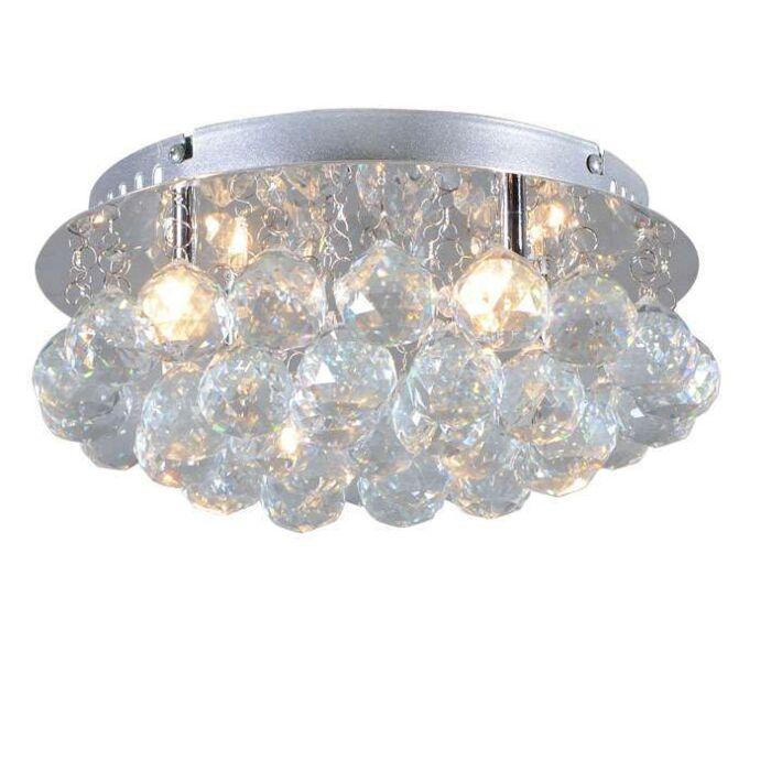 Plafonnier-Diamond-30-cm-chrome