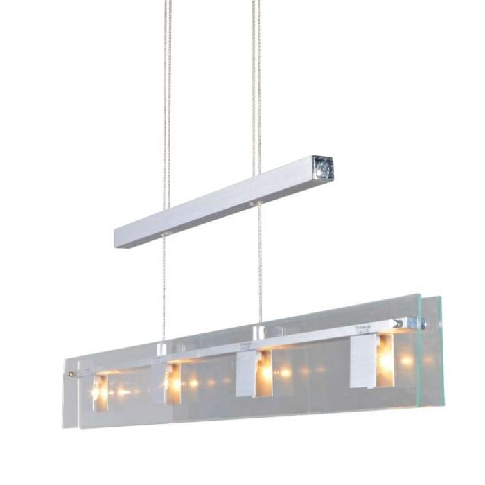 Kidrio-4-lampe-à-suspension-en-aluminium
