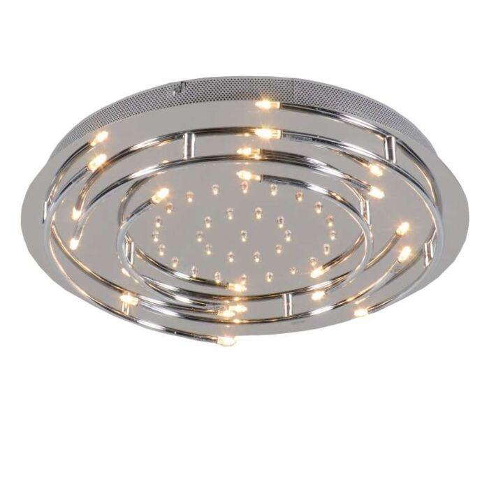 Plafonnier-Aro-LED-chrome