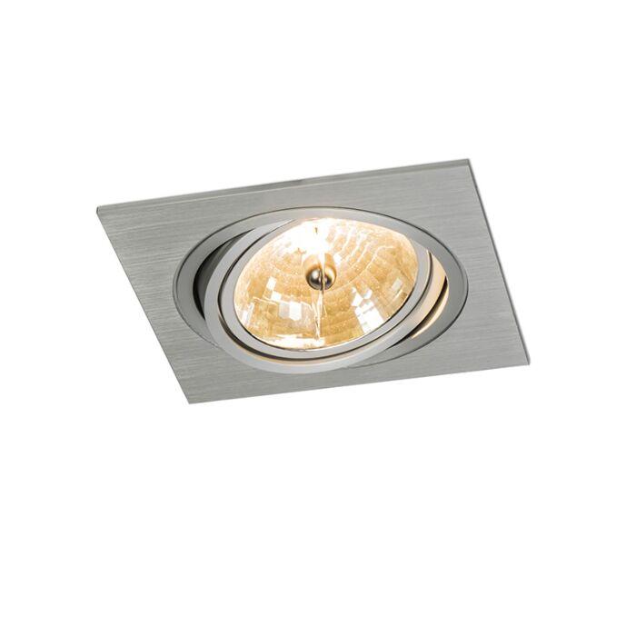 Spot-intégré-Impact-carré-en-aluminium