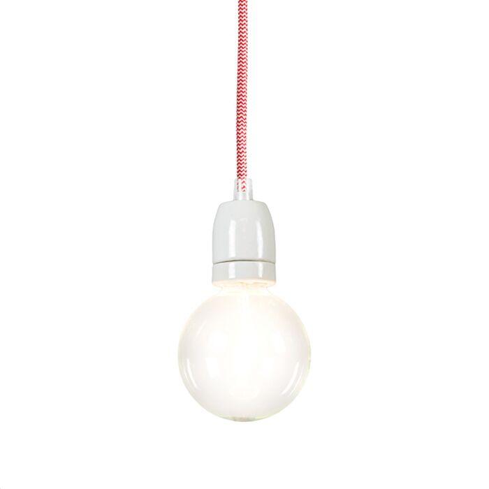 Cavo-suspension-rouge-blanc