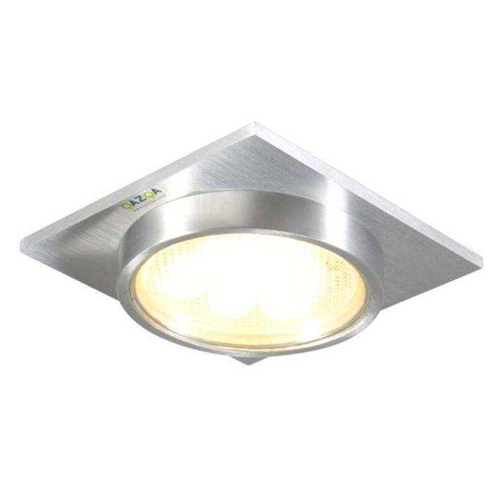 Spot-encastrable-Topaz-carré-en-aluminium
