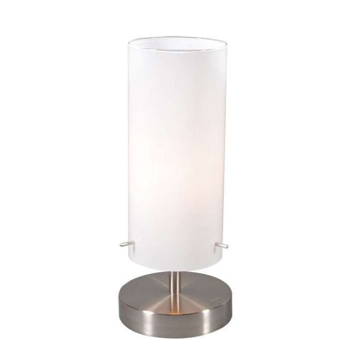 Lampe-de-table-Boy-1-en-acier-avec-verre-blanc