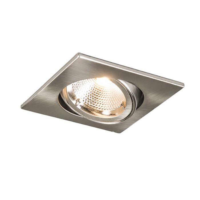 Spot-intégré-en-acier-carré-sûr-avec-6W-LED