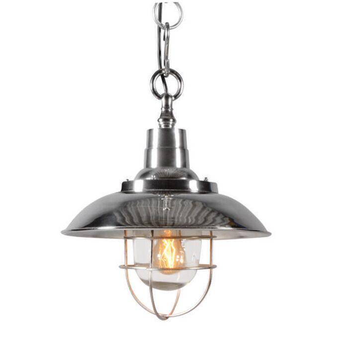 Lampe-suspendue-Odeon-en-chrome