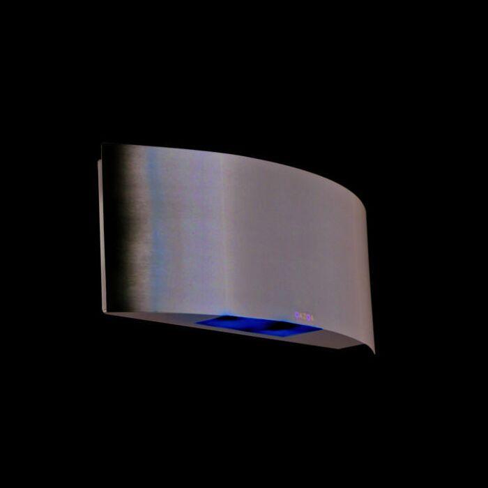 Applique-Glis-LED-en-acier-inoxydable