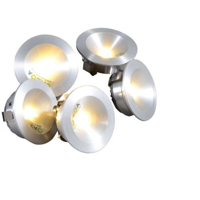 Kit-d'installation-Niek-5-x-1W-LED-en-aluminium