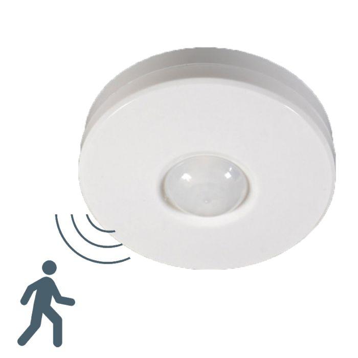 Détecteur-de-mouvement-PIR-plafonnier-blanc