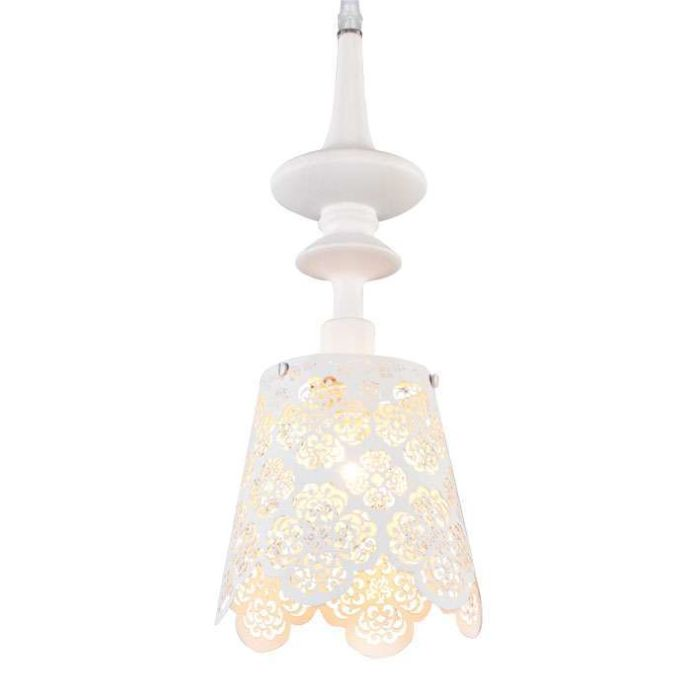 Lampe-suspendue-Lace-blanc
