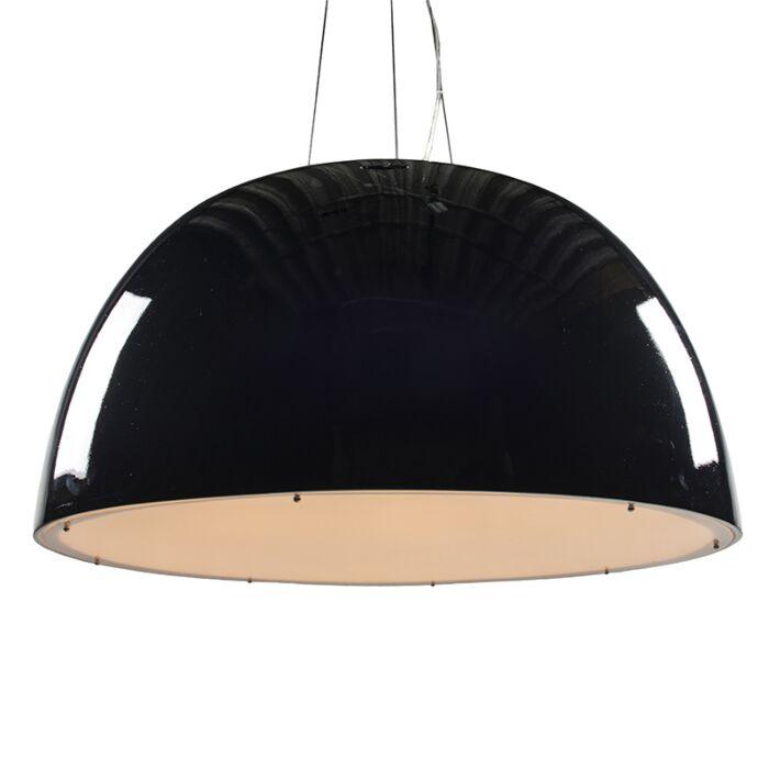 Lampe-suspendue-Glossy-100cm-noir