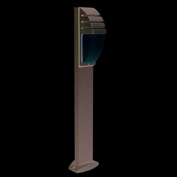 Lampadaire-exterieur-100cm-City-gris
