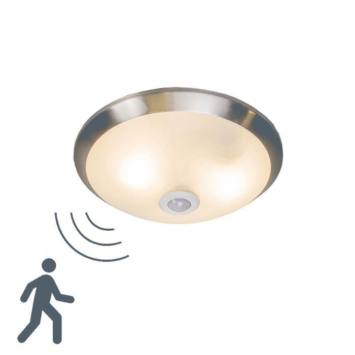 Plafonnier-Motion-III-en-acier-avec-détecteur-de-mouvement