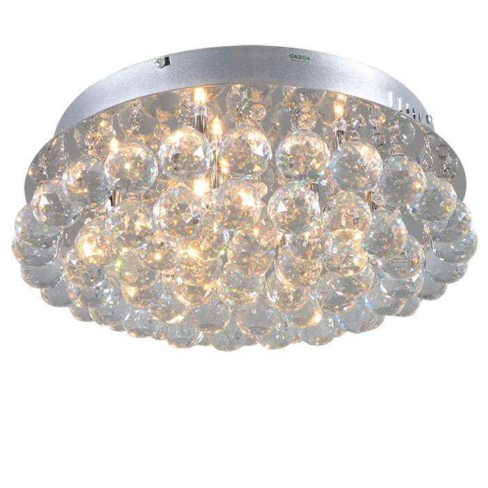 Plafonnier-Diamond-40-cm-chromé