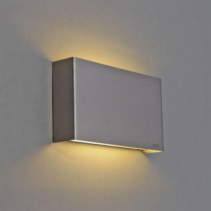 Applique-Otan-acier-LED