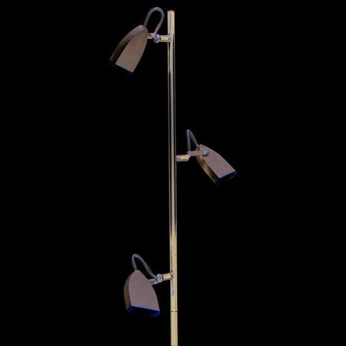 Lampadaire-Space-3-LED-en-aluminium