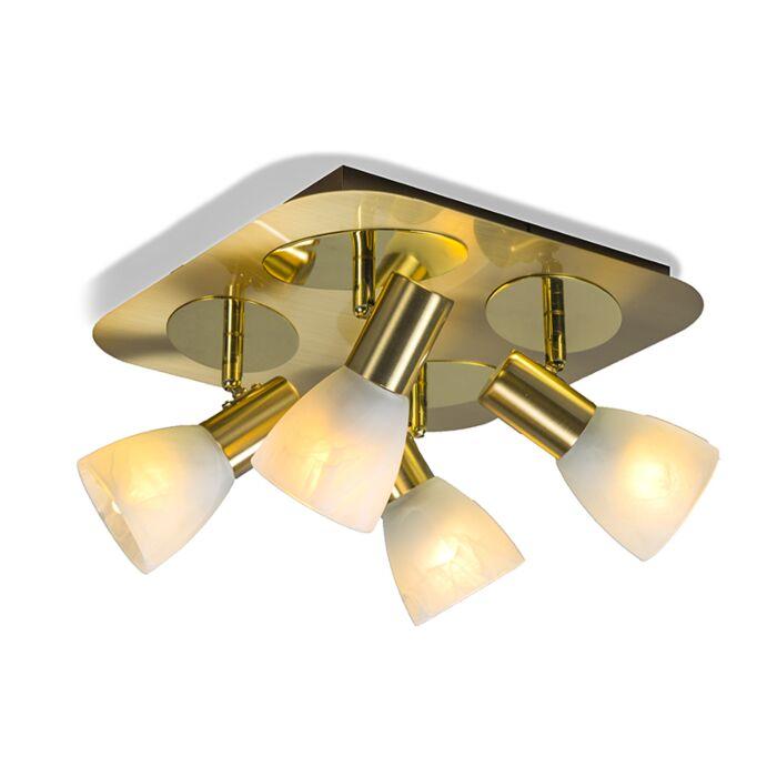 Spot-Oro-4-carré-doré-mat