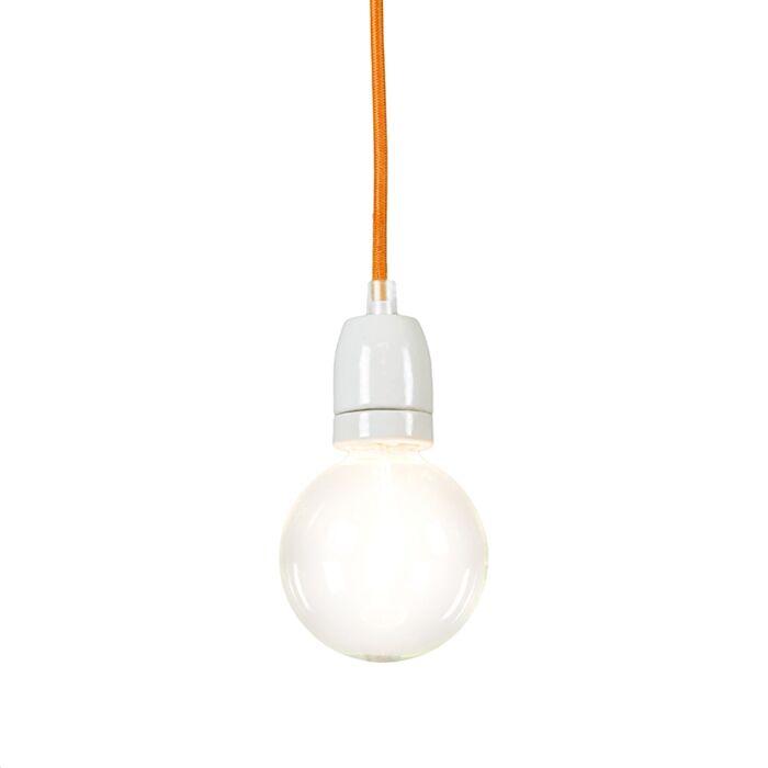 Lampe-suspendue-Cavo-orange