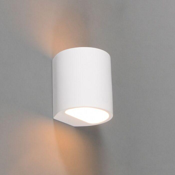 Applique-moderne-ronde-blanche---Gipsy-Arles