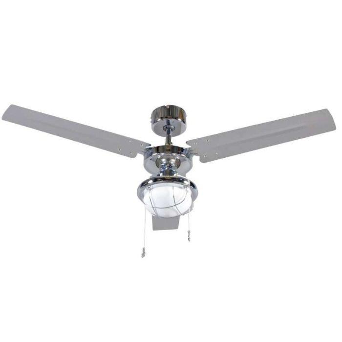 Ventilateur-de-plafond-Tail-48-chrome