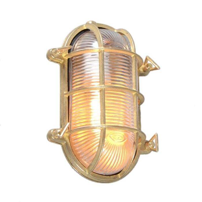 Nautica-applique-/-plafonnier-ovale-doré