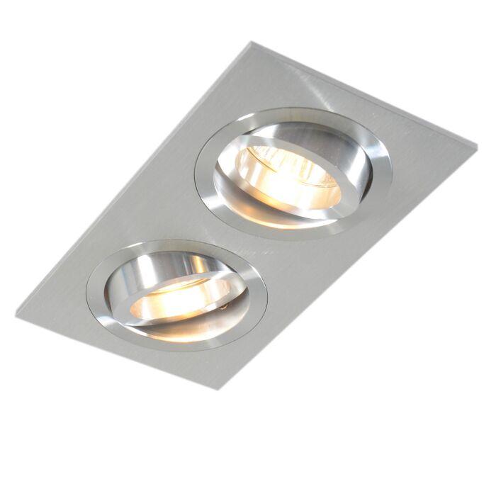 Spot-encastré-en-aluminium-inclinable---Serrure-2