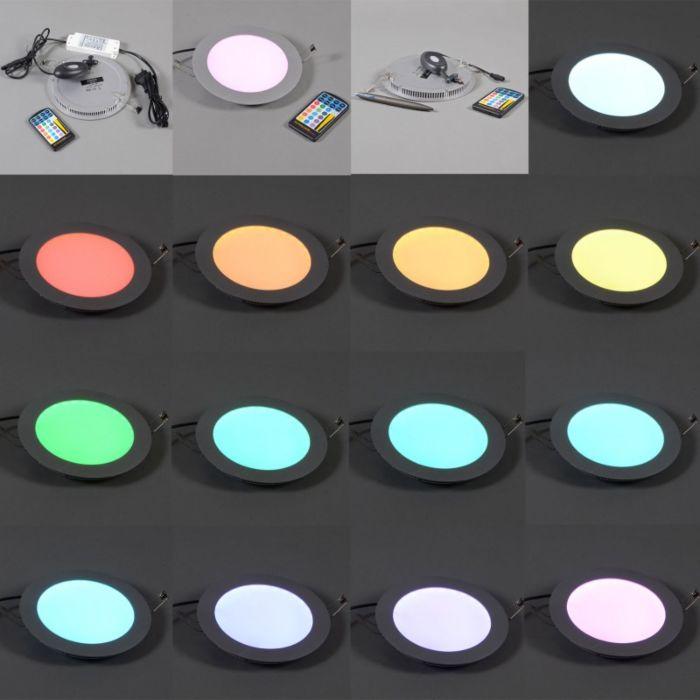 Lampe-encastrée-super-plate-Radem-RGB