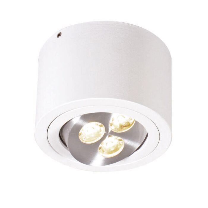 Plafonnier-Keoni-LED-blanche