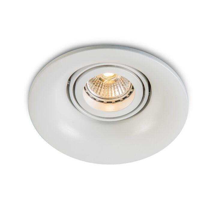 Spot-encastrable-Punch-LED-blanche