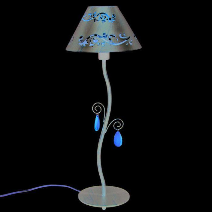 Lampe-de-table-Verona-marron-antique