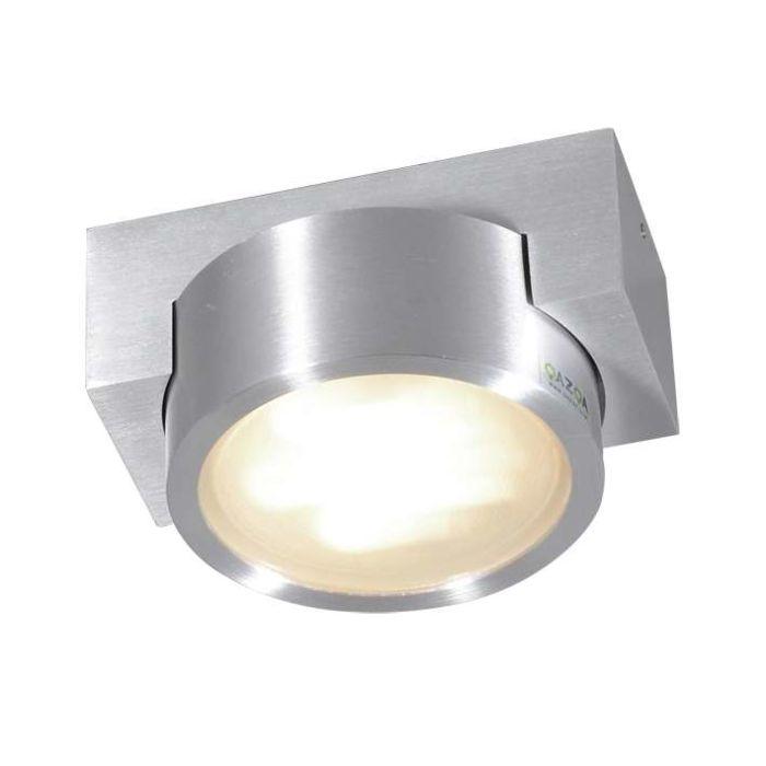 Plafonnier-Topaze-Aluminium