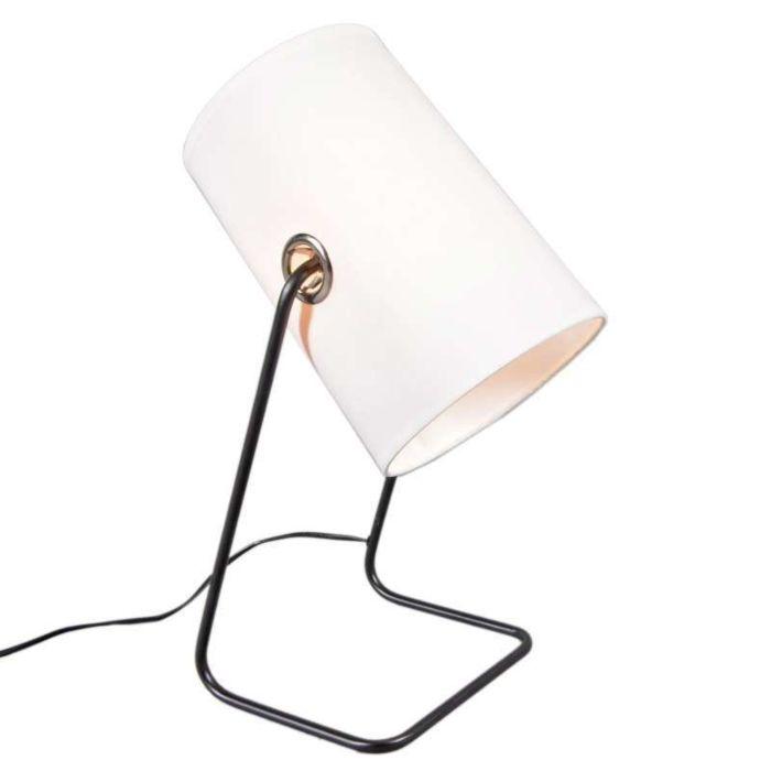 Benzina-lampe-de-table-noir-et-blanc