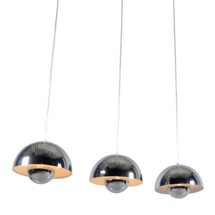 Lampe-suspendue-Elx-3-Chrome